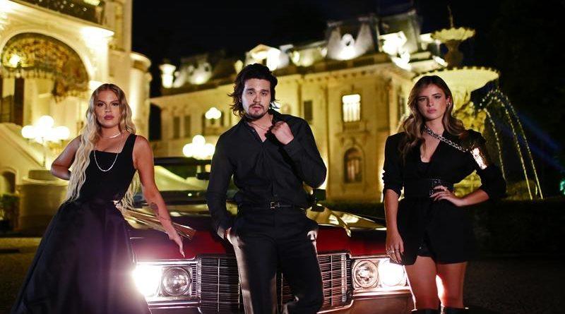 Luísa Sonza,Luan Santana e Giulia Be
